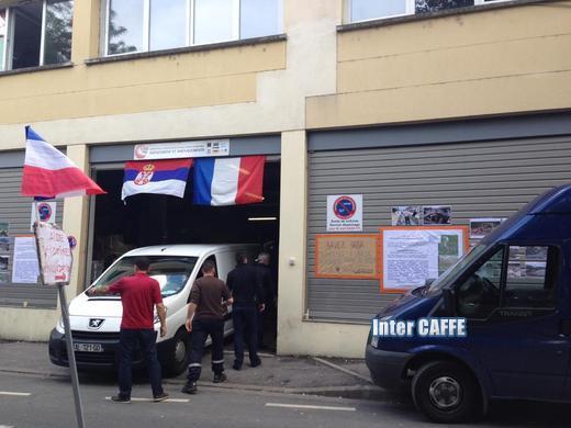 Hangar za pomoc- Paris