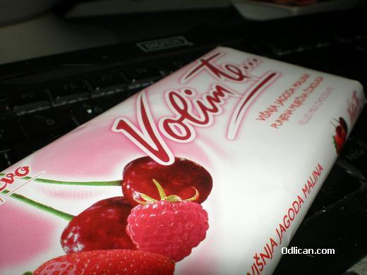 Volim te čokolada